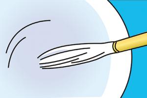 小筆のおろし方-2